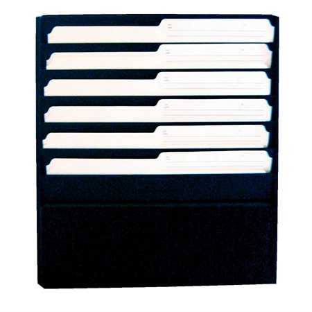 "Wall Files Letter size, 1 / 2"" capacity, 13-1 / 4 x 2 x 17-3 / 4""H."