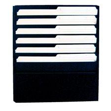 """Classeurs muraux Format lettre, capacité 1/2"""", 13-1/4 x 2 x 17-3/4""""H."""
