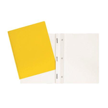 Couverture de présentation jaune