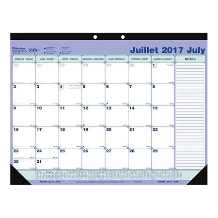 Academic Weekly Desk Pad Calendar (2020-2021