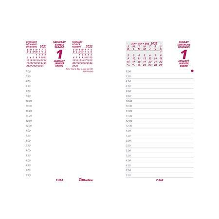Recharge pour bloc calendrier quotidien (2021) trilingue