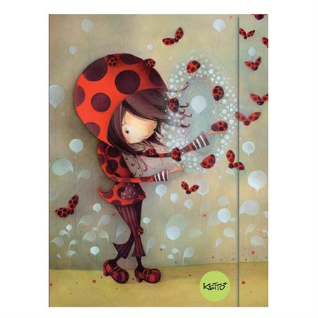 Cahier de notes Ketto coccinelle