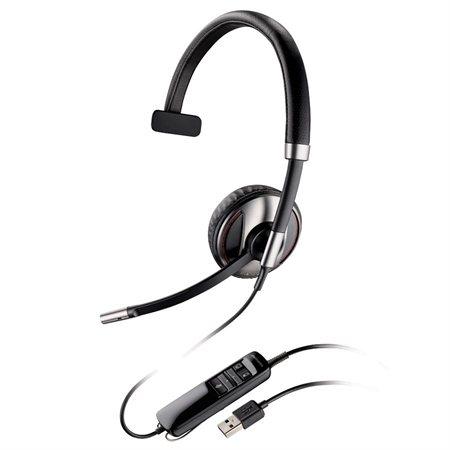Casque d'écoute Blackwire C700 Series C710M. Écouteur monophonique. Compatible OCS 2007.