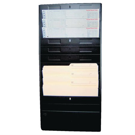"Wall Files Letter size, 1 / 2"" capacity, 13-1 / 4 x 2 x 28-1 / 2""H."