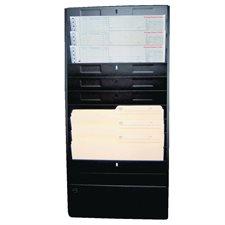 """Classeurs muraux Format lettre, capacité 1/2"""",13-1/4 x 2 x 28-1/2""""H."""