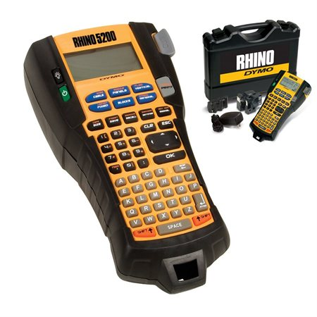 Rhino 5200 Labeller Kit with Hard Case