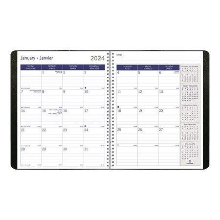 Agenda mensuel DuraGlobe™ (2022)
