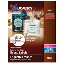 Printable Glossy Labels