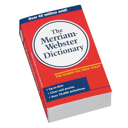 The New Merriam-Webster English Dictionary