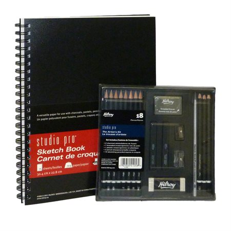 Sketch Book and Artist kit