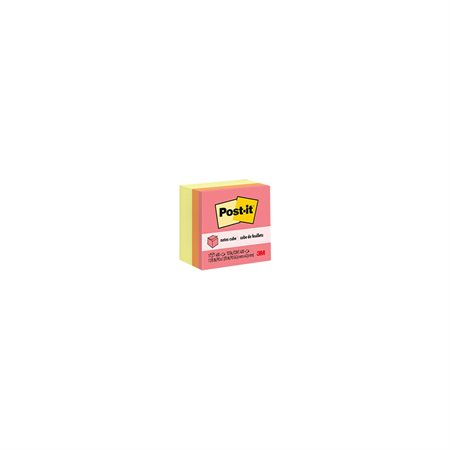 Feuillets autoadhésifs Post-it® Canary Wave