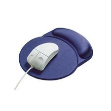 """""""RaceTrack"""" mouse pad with wrist rest"""