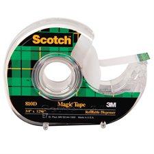 Ruban adhésif Scotch® Magic™ Dévidoir 18 mm x 33 m