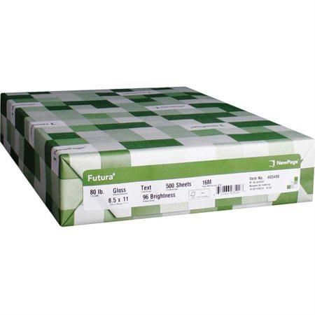 Papier laser glacé Futura®