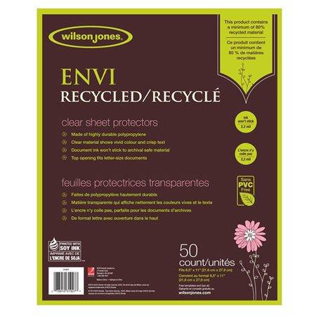 Pochette protectrice recyclée Envi