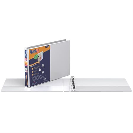 QuickFit Letter Size Antimicrobial Binder