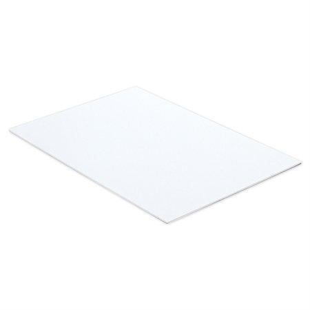 Carton mousse 3 / 16 po. 20 x 30 po, blanc