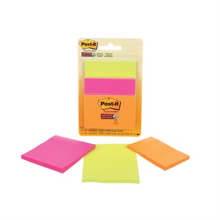 Post-it® Super Sticky Notes - Rio Collection