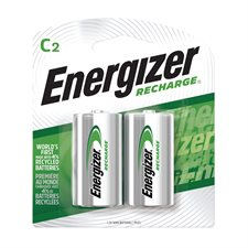 Piles rechargeables Recharge® 2 x C