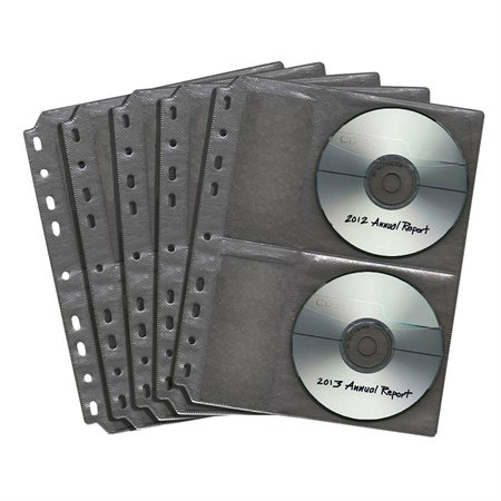 Pochette de CD / DVD pour reliure MP-948