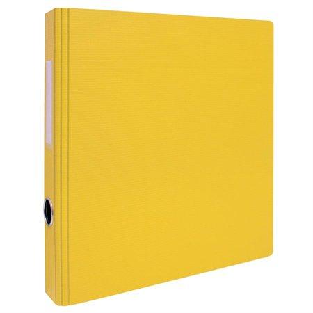 Reliure à anneaux GeoRing 1-1 / 2 po. jaune