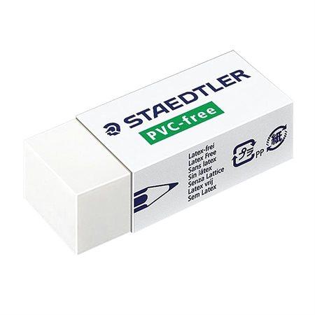 Gomme à effacer blanche sans latex 65 x 23 x 13 mm. Boîte de 20.