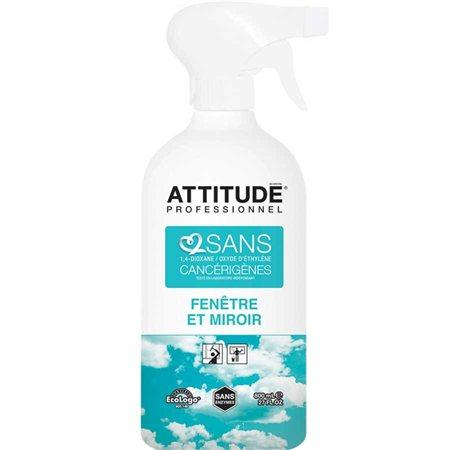 Nettoyant pour fenêtres et miroirs Attitude® Professionnel 800 ml, avec pompe
