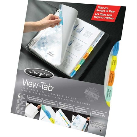 Feuilles protectrices View-Tab®