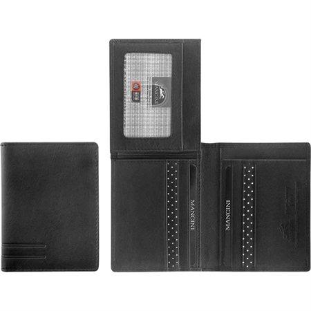 Portefeuille sécurisé pour hommes RFID Format vertical