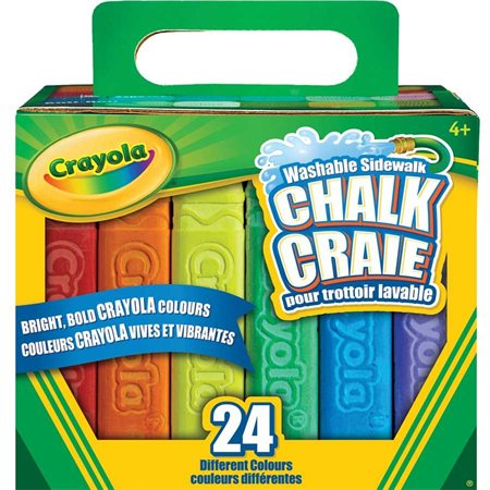 Washable Sidewalk Chalk