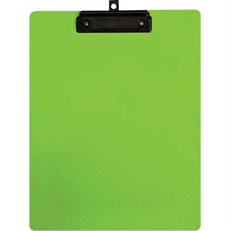 Planchette à pince vert
