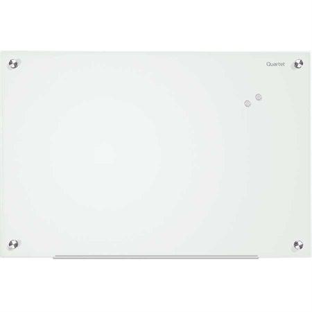 Tableau en verre effaçable à sec Infi nity™ Magnétique, 48 x 36 po blanc