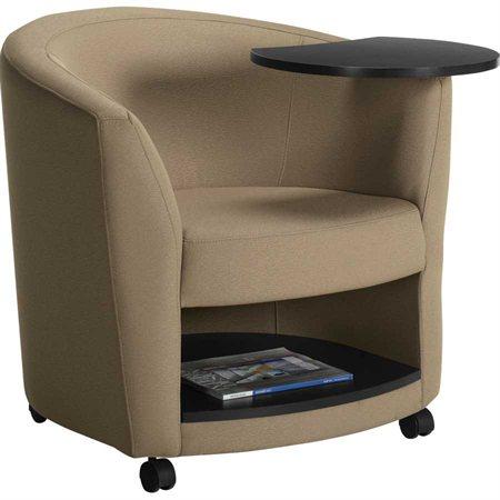 fauteuil club avec tablette sirena. Black Bedroom Furniture Sets. Home Design Ideas