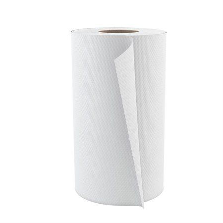 """Rouleaux d'essuie-mains Pur Econo 8"""" x 205'. Mandrin de 2,13"""". Boîte de 24. blanc"""