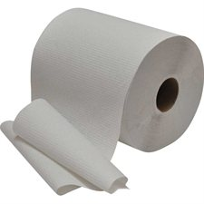 "Pur Econo Hand Towel Rolls 8"" x 600'. 1.75"" core. Box of 12. white"