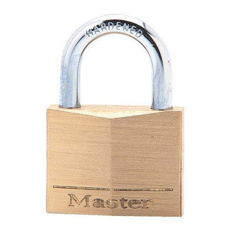 Solid Brass Padlock with Key