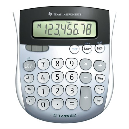 Calculatrice de bureau TI-1795SV