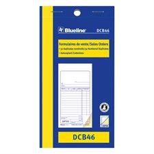 Formulaires de vente 3-1/2 x 6-1/2 po. duplicata (bilingue)