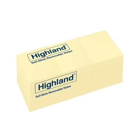 Highland™ Self-Adhesive Notes