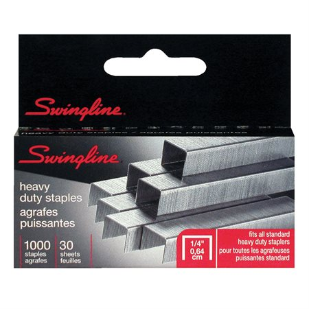 """Agrafes robustes S.F.®13 Swingline 1 / 4"""" (15-30 feuilles)"""