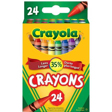 Crayons de cire Crayola® bte 24