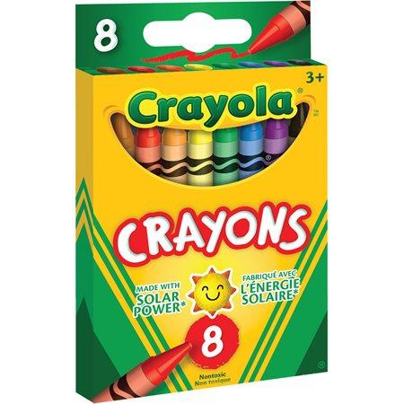 Crayons de cire Crayola® boite de 8