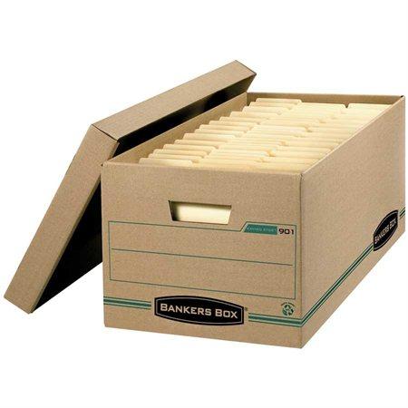 """Boîte de classement Enviro-Stor™ 24 x 12 x 10""""H. Empilable jusqu'à 550 lb. format lettre"""