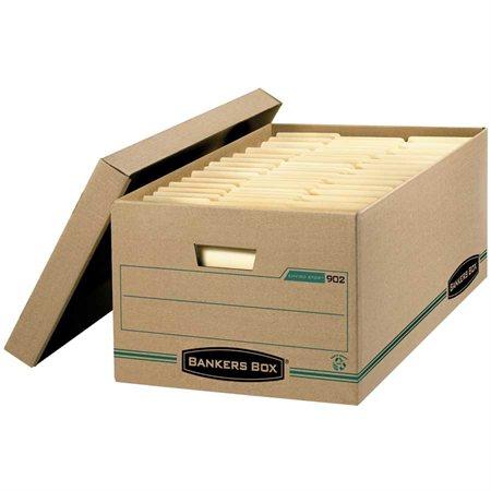 """Boîte de classement Enviro-Stor™ 24 x 15 x 10""""H. Empilable jusqu'à 500 lb. format légal"""