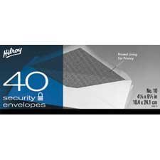 White Security Envelope