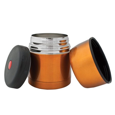 Food jar orange