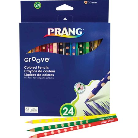 Groove Wooden Coloured Pencils