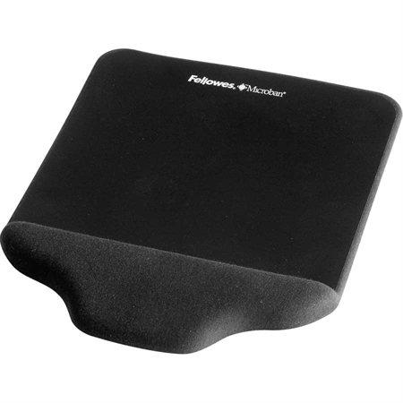 Tapis de souris / repose-poignet PlushTouch™ Mince noir