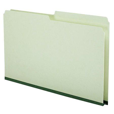 Chemise de classement en carton pressé Onglet coupé 1 / 2 droit (bte 50) format légal