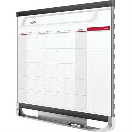 Prestige® 2 Magnetic Calendar Dry Erase Whiteboard